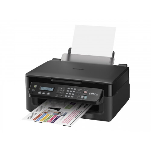 Epson WorkForce WF-2510WF Inkjet Printer With Fax, Scanning & Copying –  Durable, Economical & Space Saving – Wireless Connectivity Supported