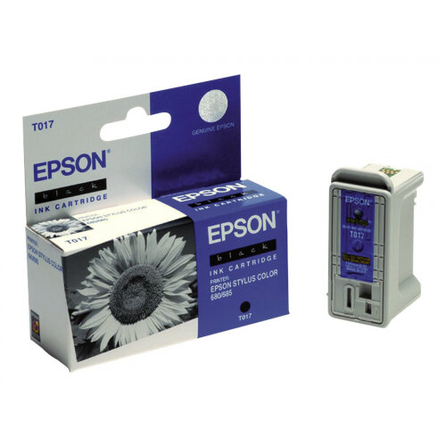 Epson T017 - 17 ml - black - original - blister - ink cartridge - for Epson  1000 ICS