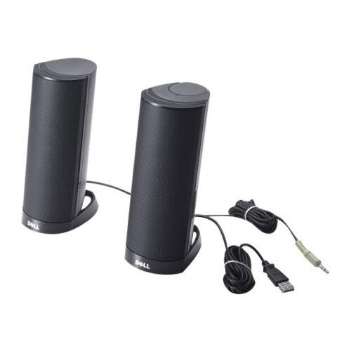 Dell AX210CR - Speakers - for PC - 1 2 Watt (Total) - black - for Inspiron  15 N5040, 15 N5050, 30XX, 34XX, 5348, 54XX, 55XX