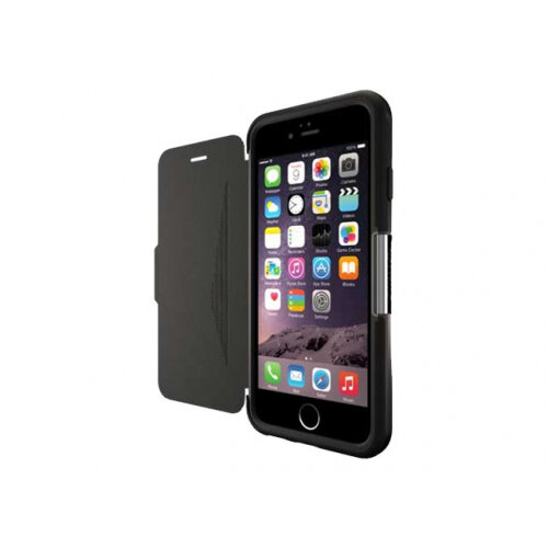 competitive price 9ccc7 29319 OtterBox Strada - Flip cover for mobile phone - genuine leather - new  minimalism - for Apple iPhone 6/6s