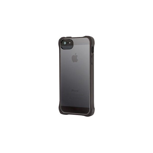 watch ac3c3 81a70 Griffin Survivor Clear - Protective case for mobile phone - polycarbonate -  black - for Apple iPhone 5