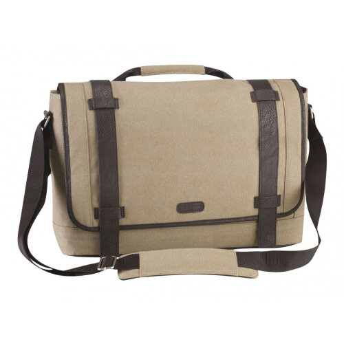 b7683f7b8c05 Targus Canvas Laptop Messenger Bag for Men - Notebook carrying case -  Laptop Bag - 15.6