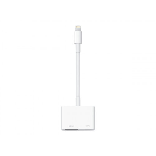 Compatible with iPad iPhone to HDMI Adapter Cable Black