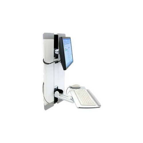Ergotron StyleView Vertical Lift, Patient Room - Mounting kit (keyboard  shelf, wrist rest, mouse pouch, panel vertical lift) for LCD display /