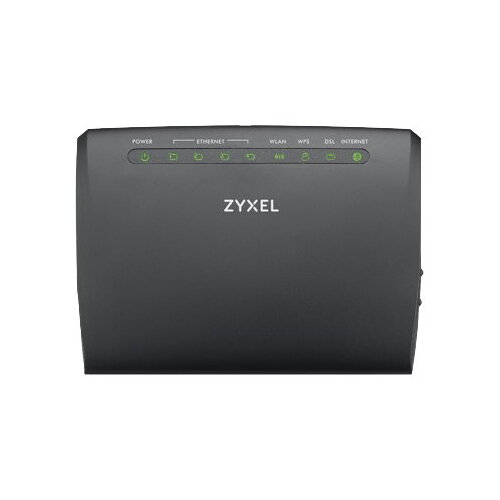 Zyxel AMG1302-T11C - Wireless router - DSL modem - 4-port switch -  802 11b/g/n - 2 4 GHz