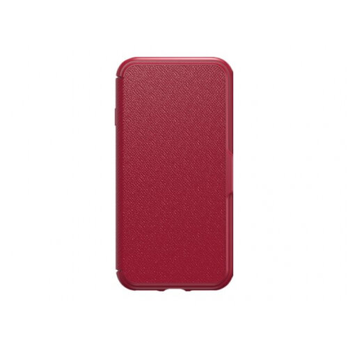 competitive price 2b8cc 7f752 OtterBox Symmetry Series Etui Apple iPhone 7 - Flip cover for mobile phone  - faux leather - cafe racer - for Apple iPhone 7