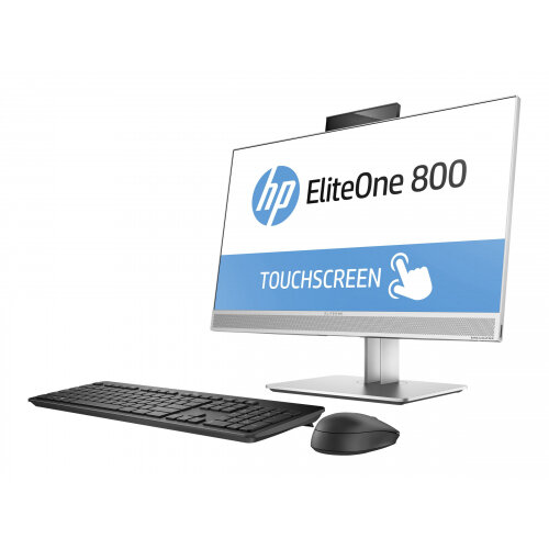 HP EliteOne 800 G3 - All-in-one Desktop PC - 1 x Core i5 7500 / 3 4 GHz -  RAM 8 GB - HDD 1 TB - DVD-Writer - HD Graphics 630 - GigE - WLAN: