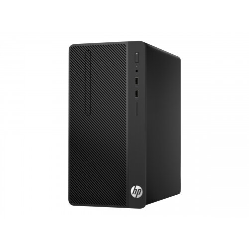 HP 290 G1 - Micro tower - 1 x Core i3 7100 / 3 9 GHz - RAM 4 GB - SSD 256  GB - DVD-Writer - HD Graphics 630 - GigE - Win 10 Pro 64-bit - monitor: none