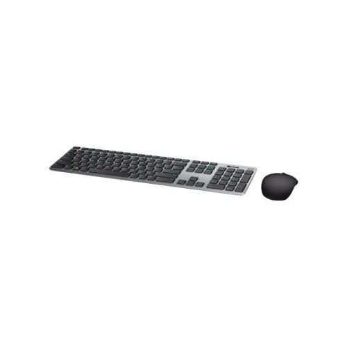 Dell KM717 Premier - Keyboard and mouse set - Bluetooth, 2 4 GHz - UK  QWERTY - grey - for Inspiron 3275, 3477, 5477, AIO DT 3275