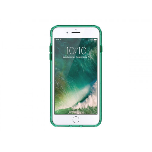 brand new a14c4 d3a16 Griffin Survivor Clear - Back cover for mobile phone - polycarbonate,  thermoplastic polyurethane - green - for Apple iPhone 6 Plus, 6s Plus, 7  Plus