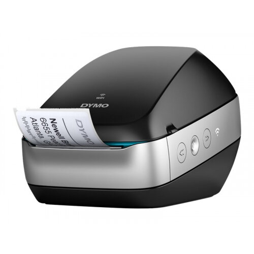DYMO LabelWriter Wireless - Label printer - thermal paper - Roll (6 2 cm) -  600 x 300 dpi - up to 71 labels/min - capacity: 1 roll - USB 2 0, Wi-Fi(n)