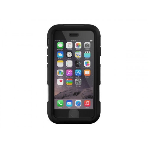 the latest 0bb25 27d09 Griffin Survivor Extreme - Protective case for mobile phone - rugged -  silicone, polycarbonate, TPE - black, clear - for Apple iPhone 6