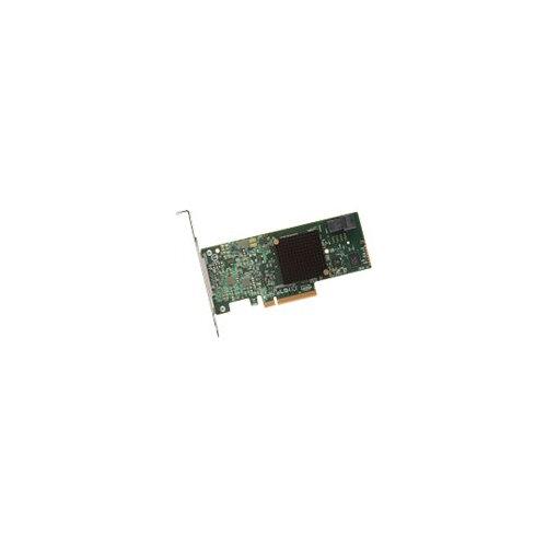 LSI MegaRAID SAS 9341-4i - Storage controller (RAID) - 4 Channel - SATA  6Gb/s / SAS 12Gb/s low profile - 1 2 GBps - RAID 0, 1, 5, 10, 50, JBOD -  PCIe