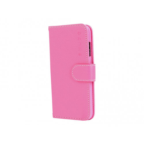 new concept 002e2 1314a Snugg Legacy - Flip cover for mobile phone - polyurethane leather - hot  pink - for Apple iPhone X