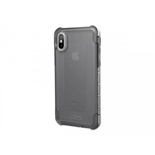 big sale 9d981 e8a0a UAG Plyo Series Rugged Case for iPhone X - Back cover for mobile phone -  rugged - composite - ash - for Apple iPhone X