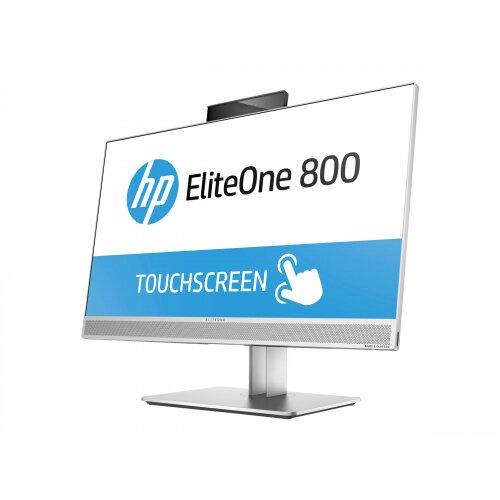 HP EliteOne 800 G3 - All-in-one Desktop PC - 1 x Core i5 7500 / 3 4 GHz -  RAM 8 GB - SSD 256 GB - NVMe, TLC - DVD-Writer - HD Graphics 630 - GigE -
