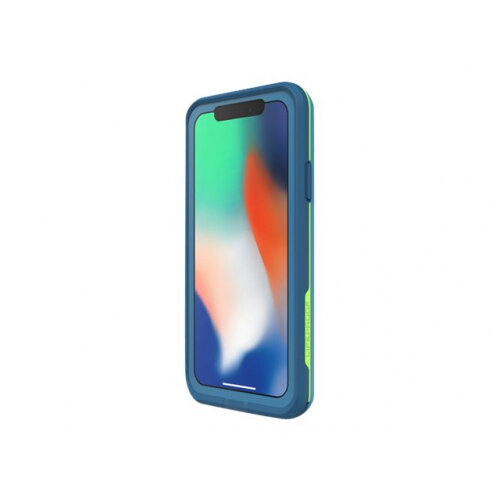 online retailer 6e4b3 d3e70 LifeProof Fre - Protective waterproof case for mobile phone - banzai blue -  for Apple iPhone X