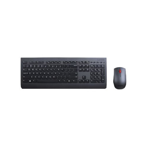 Lenovo Professional Combo - Keyboard and mouse set - wireless - 2 4 GHz -  UK English - for 330-20