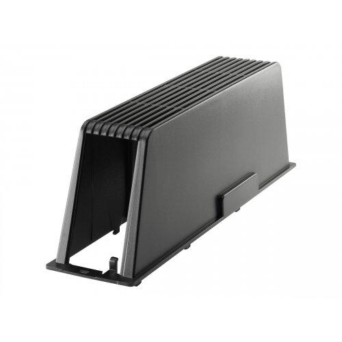 HP - Desktop port control cover - rear - black - for HP 8200, Elite 8000,  Elite 8000f, Elite 8300