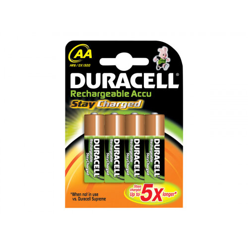 a5f4276de05 Duracell StayCharged HR6 - Battery 4 x AA type NiMH ( rechargeable ) 2000  mAh