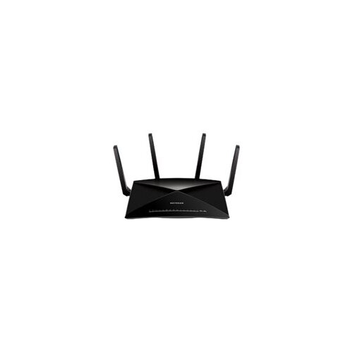 NETGEAR Nighthawk X10 - Wireless router - 6-port switch - GigE, 802 11ad  (WiGig) - 802 11a/b/g/n/ac, 802 11ad (WiGig) - Multi-Band