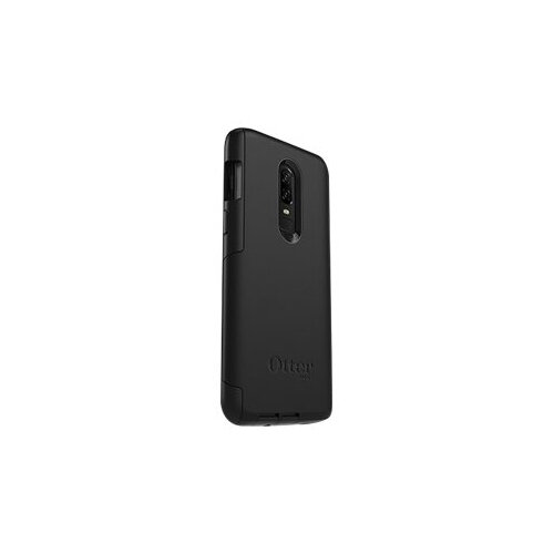 hot sale online 6ae06 73cee OtterBox Commuter Series - Back cover for mobile phone - polycarbonate,  synthetic rubber - black - for OnePlus 6