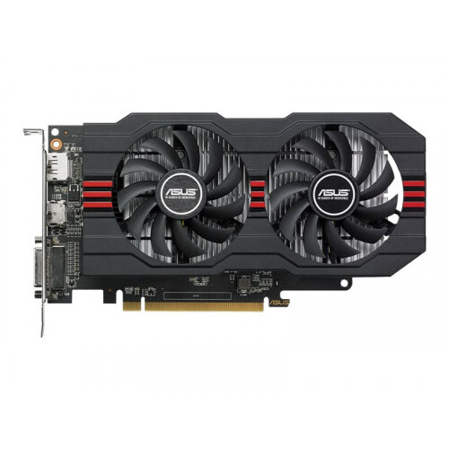 ASUS RX560-O2G - Overclocked Edition - graphics card - Radeon RX 560 - 2 GB  GDDR5 - PCIe 3 0 - DVI, HDMI, DisplayPort