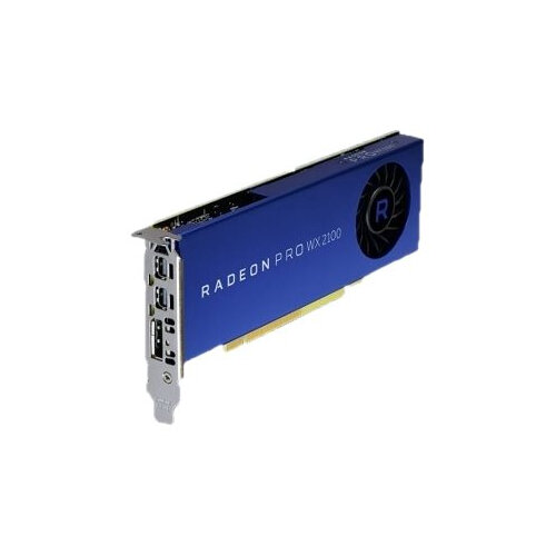 AMD Radeon Pro WX 2100 - Customer Kit - graphics card - Radeon Pro WX 2100  - 2 GB - 2 x Mini DisplayPort, DisplayPort