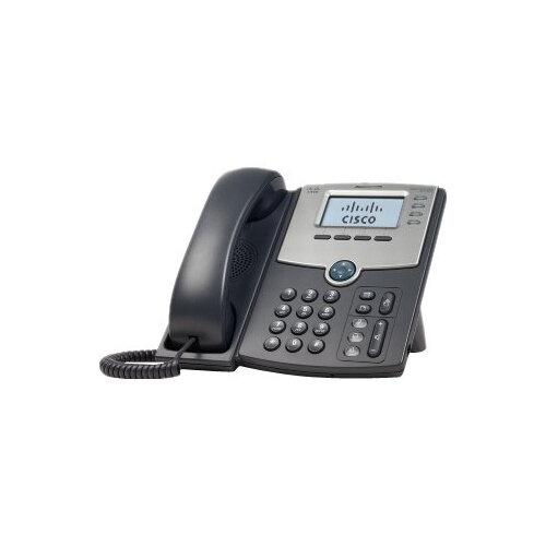Cisco Small Business SPA 504G - VoIP phone - SIP, SIP v2, SPCP - multiline  - silver, dark grey