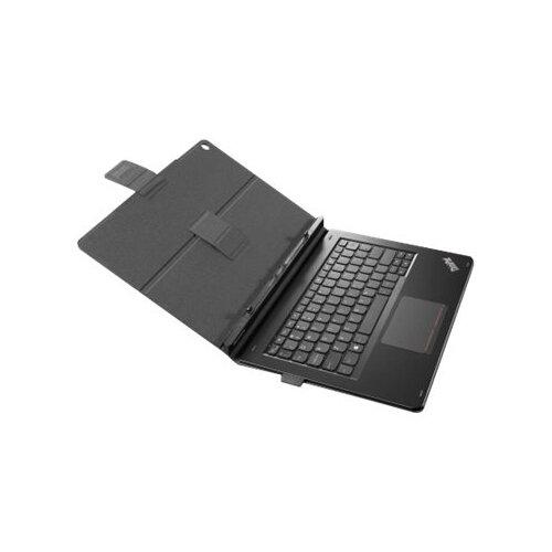 Lenovo ThinkPad Helix Folio Keyboard - Keyboard and folio case - USB -  English - US - for ThinkPad Helix 20CG, 20CH