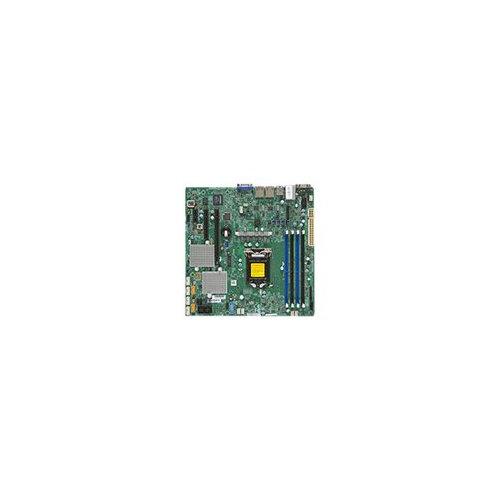 SUPERMICRO X11SSL-CF - Motherboard - micro ATX - LGA1151 Socket - C232 -  USB 3 0 - 2 x Gigabit LAN - onboard graphics