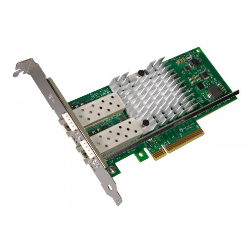 Intel Ethernet Converged Network Adapter X520-DA2 - Network adapter - PCIe  2 0 x8 low profile - 10Gb Ethernet x 2