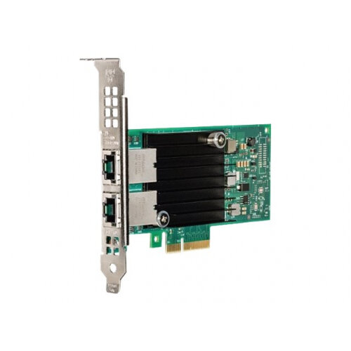 Intel X550 - Network adapter - PCIe low profile - 10Gb Ethernet x 2 - for  PowerEdge FC430, FC630, FC830, M630, M830, R430, R530, R630, R730, R930,