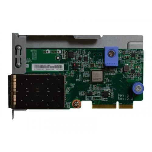 Lenovo ThinkSystem - Network adapter - LAN-on-motherboard (LOM) - 10  Gigabit SFP+ x 2 - for ThinkSystem SR530