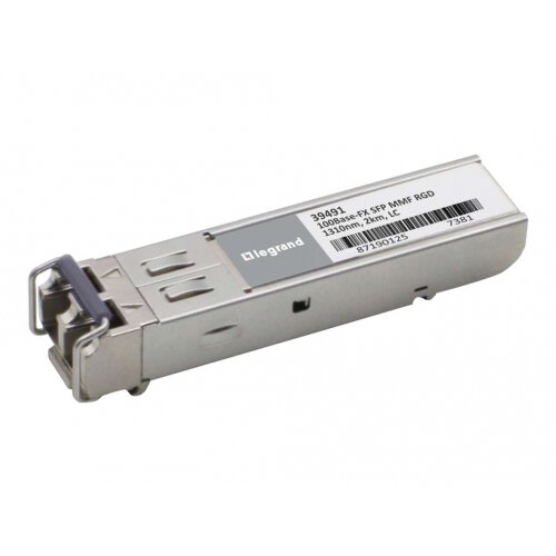 C2G Cisco GLC-FE-100FX-RGD Compatible 100BASE-FX MMF SFP (Mini-GBIC)  Transceiver Module - SFP (mini-GBIC) transceiver module (equivalent to:  Cisco