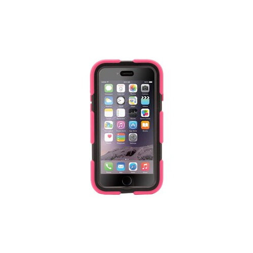 official photos 453ca 9e189 Griffin Survivor All-Terrain - Back cover for mobile phone - silicone,  polycarbonate - black, pink - for Apple iPhone 6
