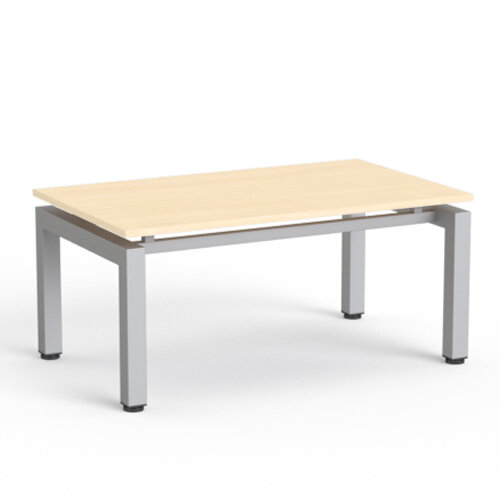 Rectangular Reception Coffee Table Polar Birch Top
