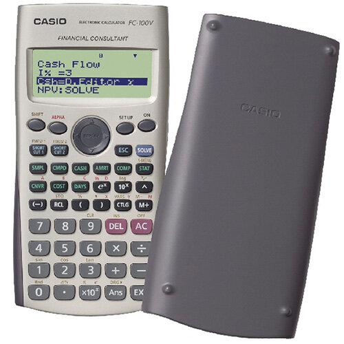 Casio Financial Calculator Silver FC100VUM HuntOfficeie Ireland – Financial Calculator