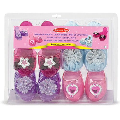 Girls Dress Up Shoes Set of 4 Size 3-5 - HuntOffice.ie