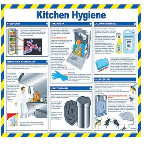 Kitchen Safety Pictures: General Sign 420x590mm Kitchen Hygiene