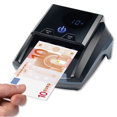Safescan Auto Counterfeit Detector For Euro, British Pound and Swiss Franc Currencies 112-0363