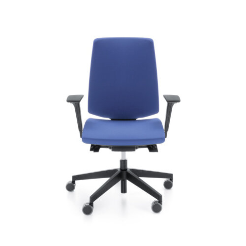 LightUp Modern Design Ergonomic Office Chair With Lumbar Support Adjust