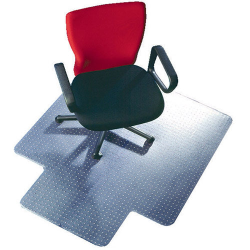 office chairs chair mats q connect chairmat pvc 1143x1346mm clear