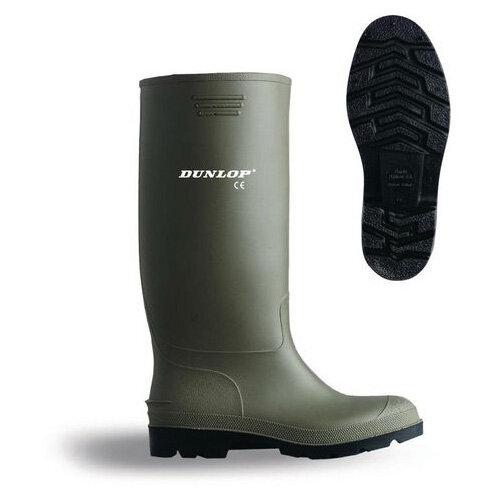 Dunlop Green Non-Safety Wellingtons