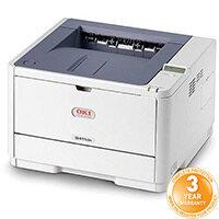 OKI B411dn A4 Mono Laser Printer Network Ready Duplex