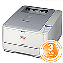 OKI C301DN A4 Colour Laser Printer Duplex Network