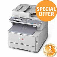 OKI MC362DN 4-in-1 Laser Colour Printer A4