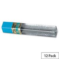 Pentel 50 HB Refill Lead 12 x 0.7mm Per Tube - 12 Tubes