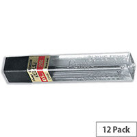 Pentel C505 2B Refill Lead 0.5mm Tube of 12 x 2B - 12 Tubes