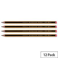 Staedtler HB Noris Pencil Cedar Wood Red Cap Pack 12